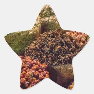 Sticker Étoile Épices du Moyen-Orient
