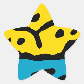 Sticker Étoile Éponge de trempage