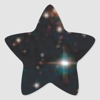 Sticker Étoile espace lointain