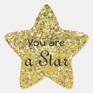 Sticker Étoile Étoile scintillante d'espoir
