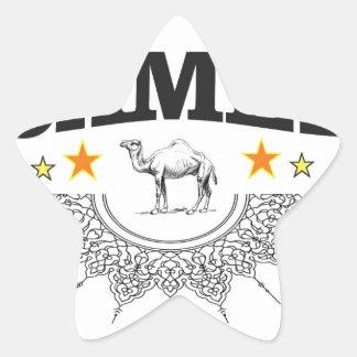 Sticker Étoile étoiles du chameau