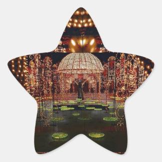 Sticker Étoile EXPOSITION LÉGÈRE :   Festival des lumières