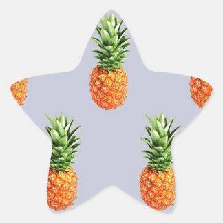 Sticker Étoile Express d'ananas