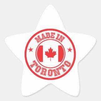 Sticker Étoile Fait à Toronto