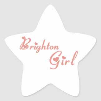 Sticker Étoile Fille de Brighton