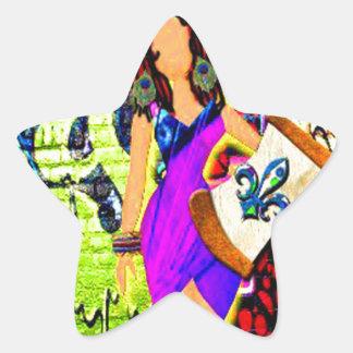 Sticker Étoile Fille de Calliope