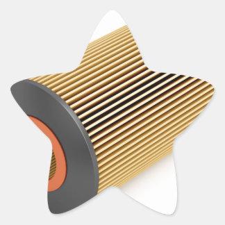 Sticker Étoile Filtre à huile des véhicules à moteur