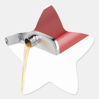 Sticker Étoile Flacon de hanche