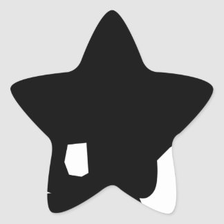 Sticker Étoile Fonctionnement de chat