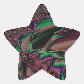 Sticker Étoile fractale respectueuse de magnanimité