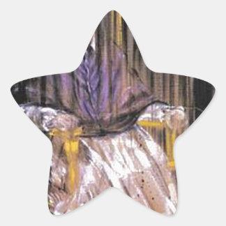 Sticker Étoile Francis Bacon - papes criards