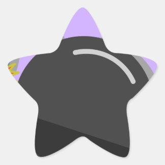 Sticker Étoile Fusée pour bombe