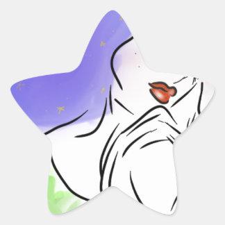 Sticker Étoile Galaxie toxique