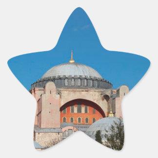 Sticker Étoile Hagia Sophia Turquie