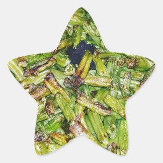 Sticker Étoile Haricots verts…