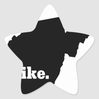 Sticker Étoile Hausse la Virginie Occidentale
