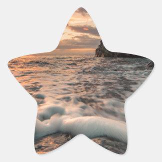 Sticker Étoile Heure d'or
