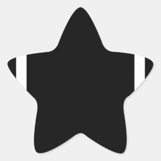 Sticker Étoile Homme