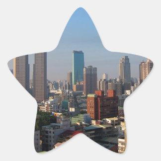 Sticker Étoile Horizon de Taïwan Taichung