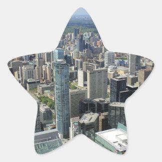Sticker Étoile Horizon de ville de Toronto