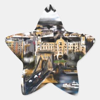 Sticker Étoile J'aime Budapest