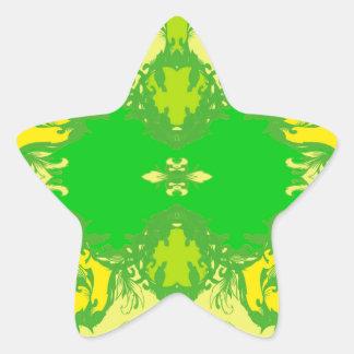 Sticker Étoile jaune
