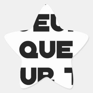 Sticker Étoile JE N'AI D'OEUFS QUE POUR TOI - Jeux de mots - Fran