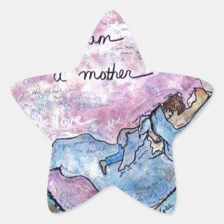 Sticker Étoile Je suis mère