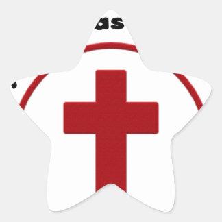 Sticker Étoile Jésus économise, T-shirt chrétien de cadeau de