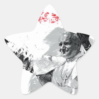 Sticker Étoile John Paul le deuxième