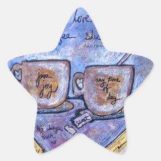 Sticker Étoile Joie de Java