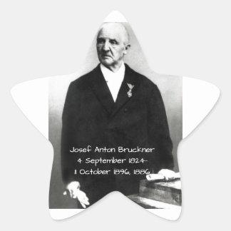 Sticker Étoile Josef Anton Bruckner 1886