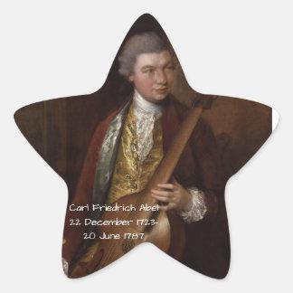 Sticker Étoile Karl Friedrich Abel
