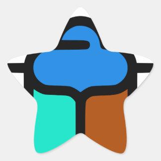 Sticker Étoile Khepri