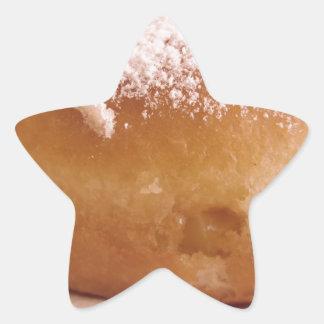Sticker Étoile Krapfen simple (beignet italien)