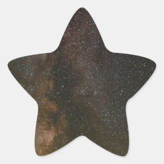 Sticker Étoile La manière laiteuse