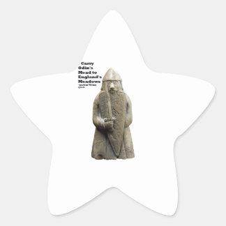 Sticker Étoile La prière d'Odin (Viking Berserker)