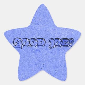 Sticker Étoile Le bon travail