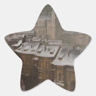 Sticker Étoile Le château du propriétaire