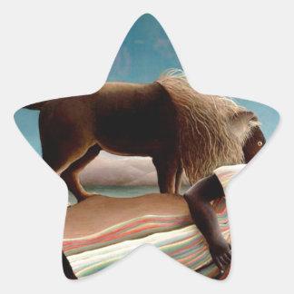 Sticker Étoile Le gitan de sommeil