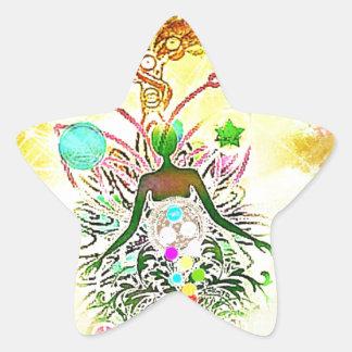 Sticker Étoile Le magicien
