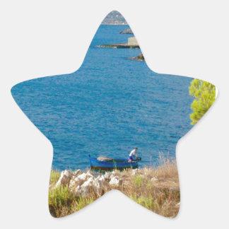 Sticker Étoile Le pêcheur sicilien