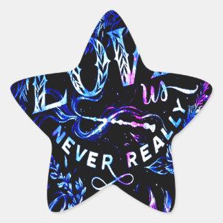 Sticker Étoile Le rêve de l'amant celui qui nous aiment