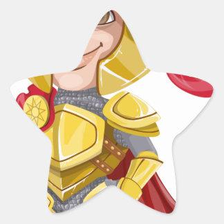 Sticker Étoile Le Roi prince Armor