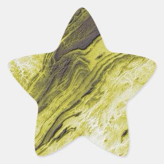 Sticker Étoile Les Appalaches dans le style de foudre de