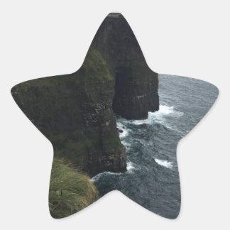 Sticker Étoile Les falaises de Moher