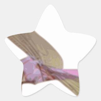Sticker Étoile Libellule