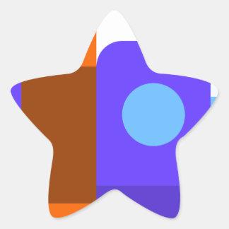 Sticker Étoile Livres et étagères