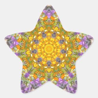 Sticker Étoile Lueur pourpre