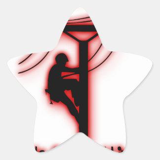 Sticker Étoile Lumière créée par Dieu - bible drôle, conception